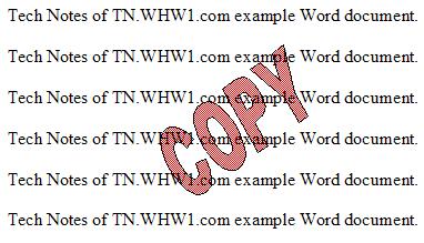 Formated WordArt