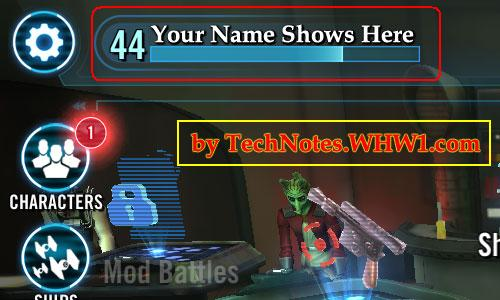 Tech Notes - How To Find Ally Code In Star Wars Galaxy Of Heroes Game
