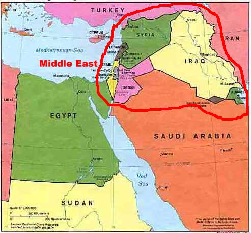 Tech Notes Where Is Middle East Who Or What Is Part Of Middle