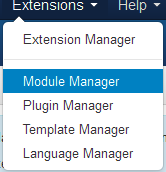 Choose Module Manager