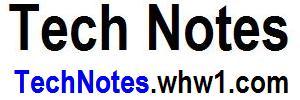 Tech Notes